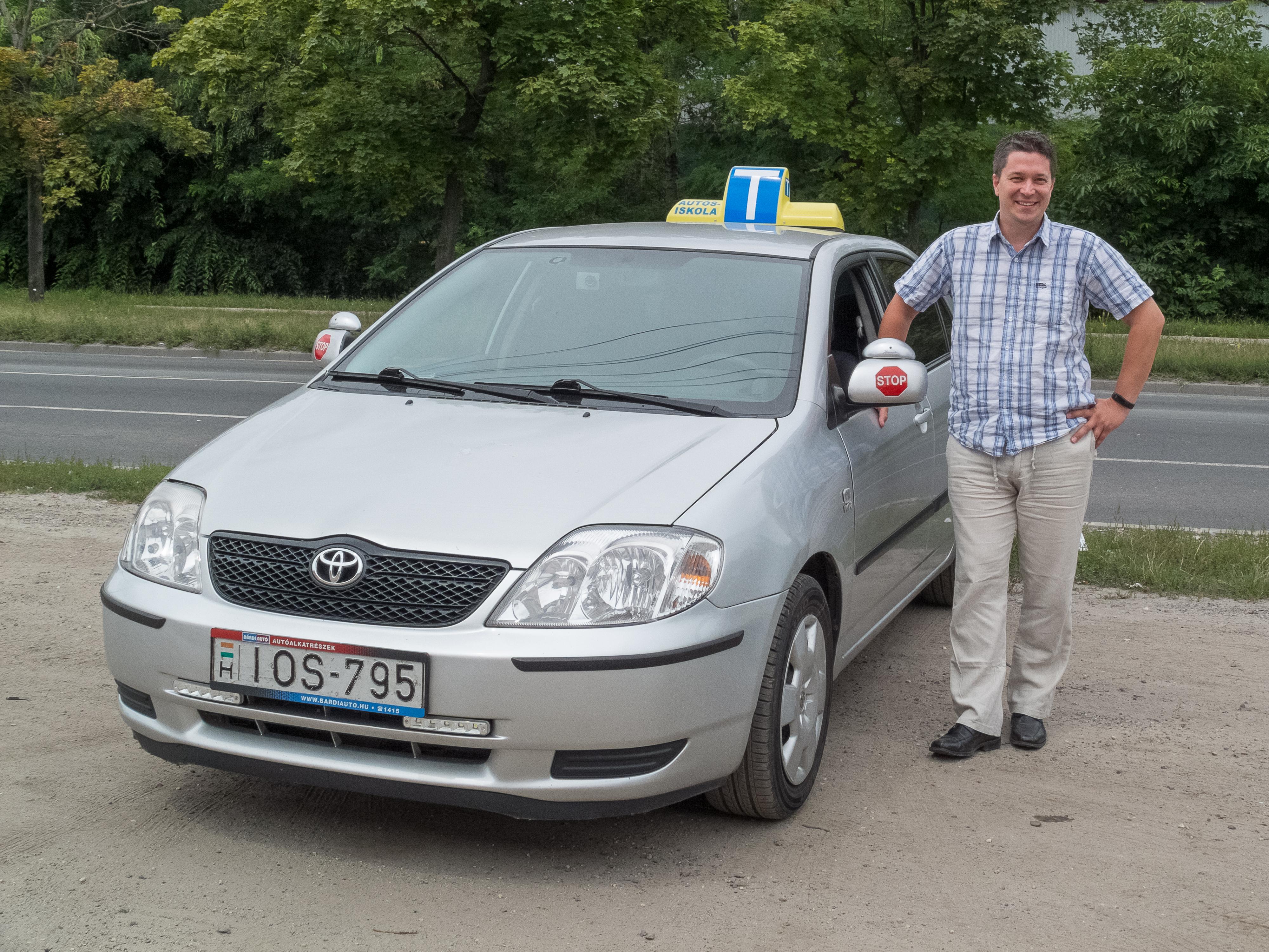 Márton Zoltán Toyota Corolla