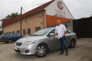 Mecea László Toyota Corolla