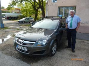 Zsilka László Opel Astra