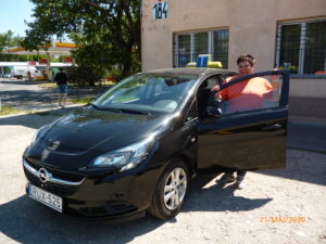 Bogdán Mária Opel Corsa