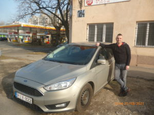 Fürdős Ferenc Ford Focus D.