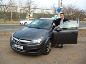 Márton Zoltán Opel Astra